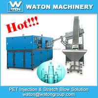 High efficiency and Low production cost Semi Automatic PET bottle making machine for Drink bottle