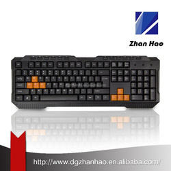 Cheap wired Multimedia Gaming Keyboard Wholesale