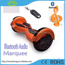 8 inch Bluetooth music 36v, 4400mah,2015 New Product 500w 8 inch Wheel Smart Drifting Scooter