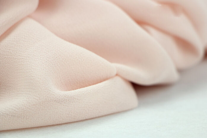 Crepe Fabric in Summer Chiffon Fabric/summer Lady