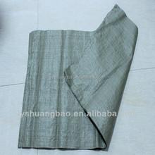 Russia cheap green pp woven bag/cement bag/sack