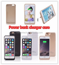 For iphone 6plus battery case 5000mAh external power bank case for iphone 6plus