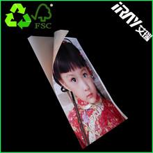 China manufacture inkjet printing/ High Glossy stickness Inkjet Photo Paper/label photo paper