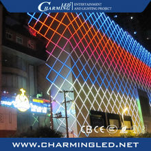 waterproof dmx rgb led tube light for outdoor building