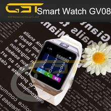 """1.5"""" inch dual sim bluetooth smart watch mobile phone GV08 with best quality"""