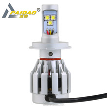 Wholesales H4 Car LED headlight CREEs 12V H4 led headlight for cars with CE