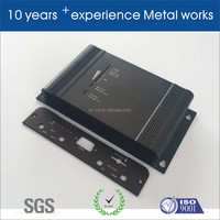 aluminium extrusion box with surface treatment,aluminium extrusion housing with surface treatment