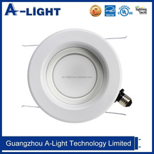 spot lighting ceiling mounted 120V 13 watt 6 inch recessed downlight led retrofit fixtures
