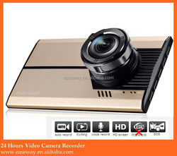 K-2400 wide angle full HD vehicle DVR,Dash cam, 24 Hours Video Camera Recorder