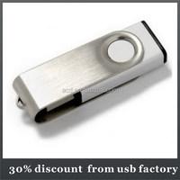 mass production bulk 16GB spin usb flash drive