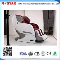 Luxury Zero Graviry Massage Recliner Chair with Air Pressure, Bluetooth, Heating