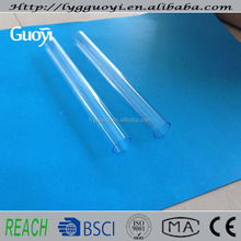 different size of heat resisting clear quartz tube wholesale price