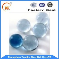 16 mm glass marble ball color solid transparent glass beads for aquarium