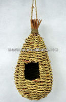 100% Handcraft natural reed bird nest