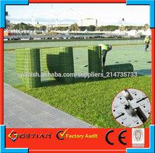 azulejos de protección hierba