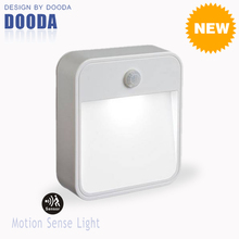 New Products Stick Anywhere Smart Corridor Security Wall LED Motion Activated Sensor Light With Waterproof For Indoor And Outdoo