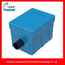 Plástico azul Manual Trampa de Grasa P-T5 para Domésticos de Cocina con alta Purificación Cambio
