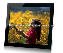 digital photo frame clock 17'' digital photo frame HD 1280*1050 perfect home/hotel decoration