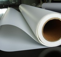 front print ECO solvent PET backlit plastic film 210gsm