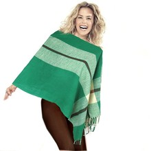 China Wholesale spring acrylic scarf green color wrap scarf best-selling scarf shawl