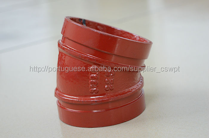Fm ul ductile iron grooved fittings couplings