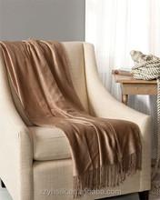 Oeko-Certificate 100% Bamboo Blanket Sofa Throws