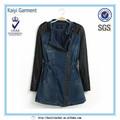 Denim Jacket bonita fabricantes designer roupa por atacado china