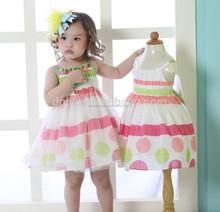 los niños ropa de algodón niñas vestidos de algodón