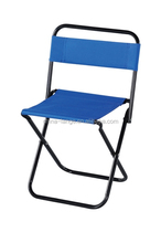 LG-AH1024 Yongkang LanGe steel and fabric simple folding beach chair fishing chair