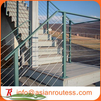 stainless steel cable railing system project