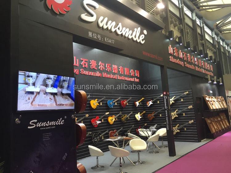 Chinês Instrumento Musical Popular Série Guitarra Elétrica SGEM 11