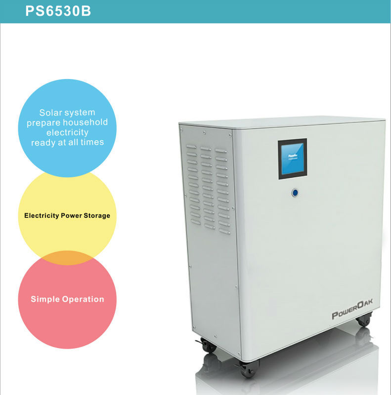 Hybrid Ess 6.5kwh 3000w Lithium Battery Solar Ups - Buy ...