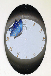High quality embossed and stamped foil paper for clock