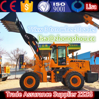 ZL936 3 TON FRONT END WHEEL LOADER with Quick Hitch/Quick-Change Bucket