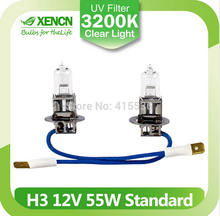 XENCN H3 Pk22s 12V55W Clear Series Original Line Car Halogen Fog Light Standard OEM Quality Auto Lamp for chevrolet aveo bmw e60