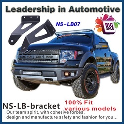 F-ord f150 super duty upper windhsield led work light bar brackets fit LB07 for 1000cc racing motorcycle