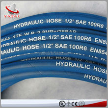 Synthetic 5/16 Inch Oil Resistant Fiber Covered Rubber Hose For R6
