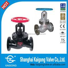 Flange cast iron globe valve manually