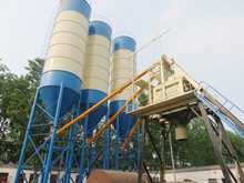 high quality HZS50 self loading concrete plant