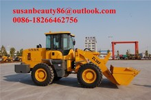 JINAN small wheel loader for snow removing in Hokkaido