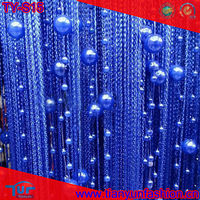 The latest sales string door curtain with beads