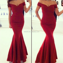 Sexy Formal Long Women Deep V Neck Strapless Dress Prom Evening Party Cocktail Bridesmaid Wedding Dress