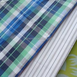 various patterns y/d checks & stripe poplin