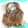 Multidirectional Hidden Knots Natural Hairline Skin Top Jewish Kippah Women Toupee With Clips