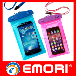 High quality Eco-friendly 100% seal PVC cell phone waterproof bag