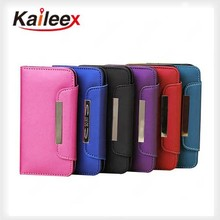 High Quality Pu Holster Leather Cases Cover For Apple Iphone 5 Leather Case