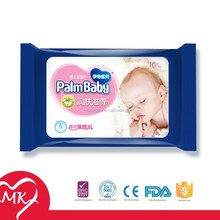Private label alcohol free vitamin aloe all natural flushable baby wipes