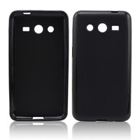 Matte inside clear outside cell phone tpu case for SumSung G355H