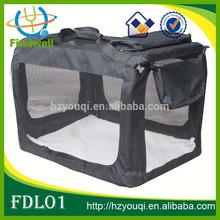 Foldable Oxford Cloth Pet Dog Cat Carrier Bag Dog Soft Crate