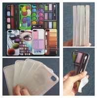 Fashion Colorful Eyeshadow design for iphone 4 4s 5 5s soft tpu case